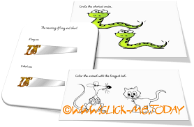 LONG-SHORT WORKSHEETS, Free Activities & Coloring pages