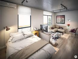 Efficient Studio Apartment Layout