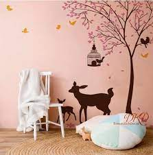 tree wall decals nursery wall sticker