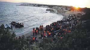 "Результат пошуку зображень за запитом ""The flows of migrants at the West"""