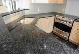 image of light gray granite countertops