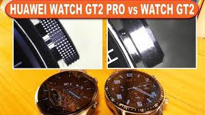 Huawei Watch GT 2 Pro vs Huawei Watch GT2 - look and microscopic details -  YouTube