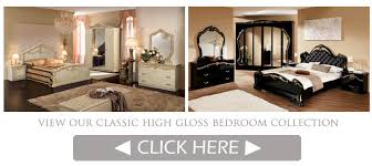 High gloss italian bedroom furniture EM Italia
