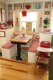 great kitchen banquette accent area