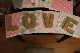 Paper Mache Decorating Diy Paper Mache Letters Mikado Weddings