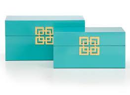 Turquoise Decorative Accessories Impressive Ming Turquoise Boxes