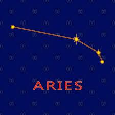 Constellation Sky Chart Aries Constellation Zodiac Star Chart