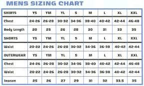 Xara Soccer Sizing Chart