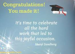 Congratulations For Graduation 23 Graduation Congratulations Quotes Inspirational Words