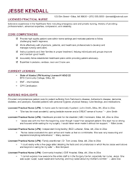 Lpn Resume Template Free Job Resume Objective For Retail Lpn Resume