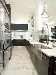Contemporary Galley Kitchens