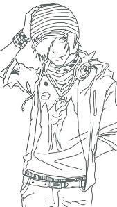 Anime Boy Coloring Pages Cute Anime Boy Coloring Pages Children Guy