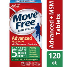 Move Free <b>Glucosamine Chondroitin</b> MSM and <b>Hyaluronic</b> Acid ...