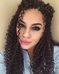 Crowshade Hair Style very pretty crochet braids with freetress water wave crochet 4224 by wearticles.com