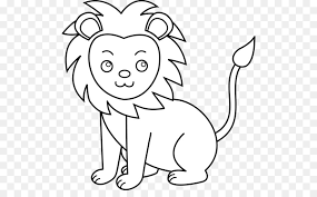 baby lion clipart black and white. Interesting Clipart White Lion Black And White Clip Art  Cute Pics Of Lions Clipart In Baby Lion And T