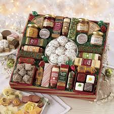 gourmet food gift baskets best cheeses sausages meat seafood gift ideas
