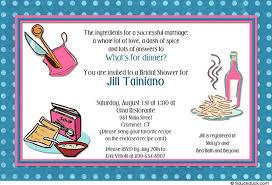 Kitchen Party Invitation Cards Samples Kitchen Party Invitation