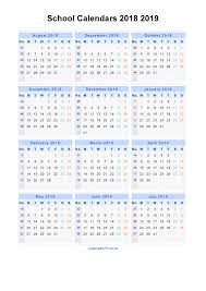 windows printable calendar 2018 school calendars 2018 2019 calendar from august 2018 to july 2019
