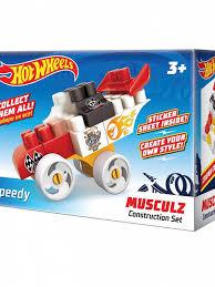 <b>Конструктор Hot wheels</b> серия musculz Speedy 16 эл.709 Bauer ...