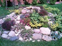 rock garden ideas for front yard