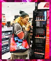 it was 10 a m on a sunday morning in new york city and a gle of women were flooding into sephora s meatng wearing tight party dresses and