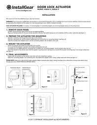 fix car door lock new amazon installgear universal car power door lock actuators 12 of fix