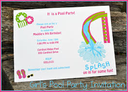 pool party invitations designs pool party invitations template