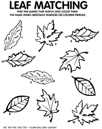 Small Picture Fall Leaves Coloring Pages Printable Coloring Pages