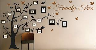 family tree wall art design