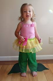 how to toddler mermaid costume