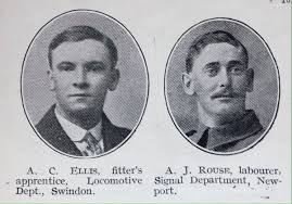 Image result for railwaymen first world war