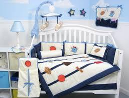 all baseball crib bedding