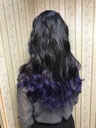 シャンテグラム On Twitter ヘアスタイル紹介 黒紫