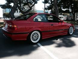 1995 E36 M3 in Hellrot