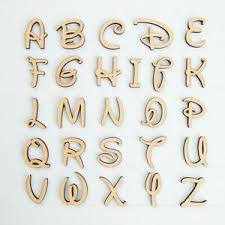 Disney Font Details About Disney Font Wooden Mdf Letters Numbers In Various Sizes To Chose From