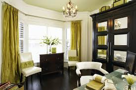 home office design ideas big. Small Modern Traditional Bay Window Home Office Decorating With  Inspirational Big Vintage Style Black Wooden Cabinet Home Office Design Ideas Big