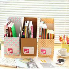desk office file document paper. Creative DIY Desktop File Holder A4 Paper Organizer Box Office Book Magazine Document Desk N