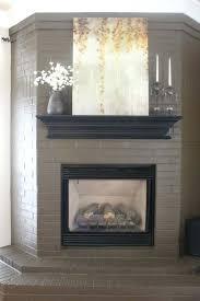 paint brick fireplace ideas photo 6 of best painted brick fireplaces ideas on brick fireplace makeover