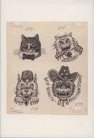 Russian Criminal Tattoo Cat Thief All Power To The Godfathers