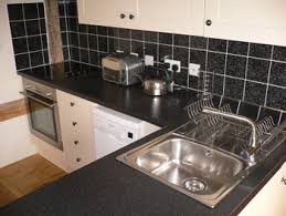 Tile Splashback Ideas Pictures: Pictures of Black Kitchen Tiles