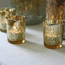 gold candle holders bulk mercury glass