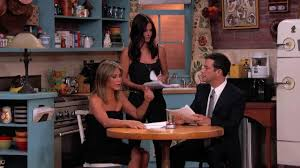 Friends actresses Jennifer Aniston, Courteney Cox and Lisa Kudrow ...