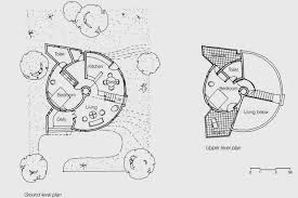 round house plans. housing in kutch | floor plans of round house; ground and upper floors archnet house