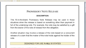 Promissory Note Release Youtube