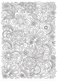 coloring in patterns 2. Exellent Coloring Zentangle Art Coloring Page For Adults Printable Doodle Flowers PDF  Pattern Throughout Coloring In Patterns 2 E