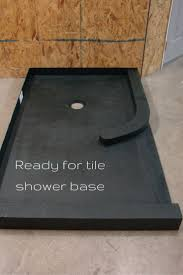 ideas shower systems pinterest: this ready for tile shower base is a way to get a tile shower which will