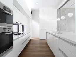 kitchen design ideas white modern and minimalist cabinets the hardware free