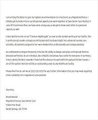 Nurse Reference Letter Adorable Registered Nurse Recommendation Letter Kubreeuforicco