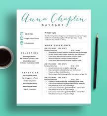 Modern Resume Layout Glamorous Modern Resume Template Cv Template ...