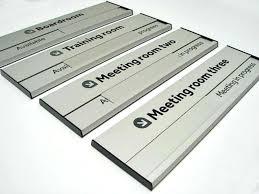 aluminium sliding door sign for your office